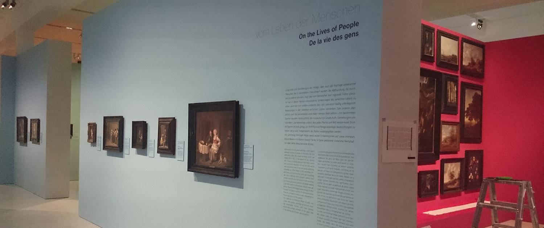 Beschriftung Augustiner Museum