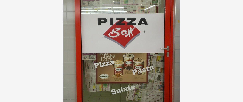 Türaufkleber Pizzabox