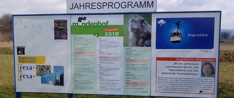 Jahresprogramm Mundenhof