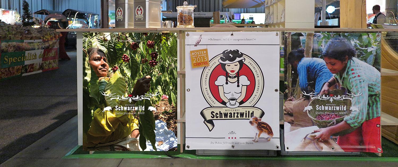 Werbebanner Schwarzwald Rösterei