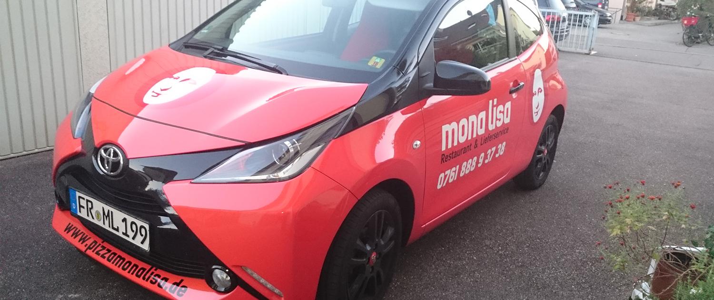 Fahrzeugbeschriftung MonaLisa