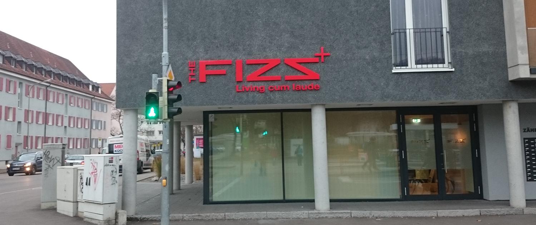 Außenwerbung The Fizz