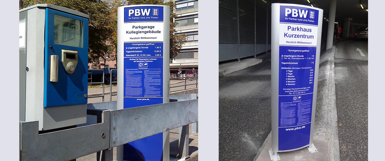 Licht-Außenwerbung PBW